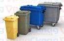 Мусорные контейнеры, мусорные баки.