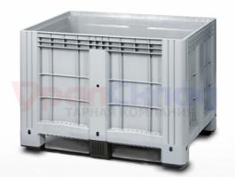 Цельнолитой пластиковый контейнер iBox 1200х800 (на полозьях)