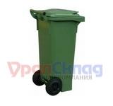 Мусорный контейнер на колёсах (80 л) зеленый
