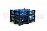 Пластиковый паллет для 19-литровых бутылей BottleRack